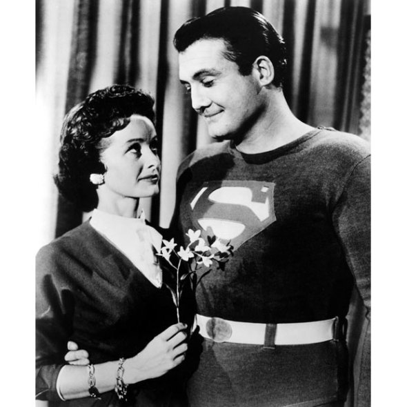 2nd and most familiar Lois Lane (Noel Neill) with Superman