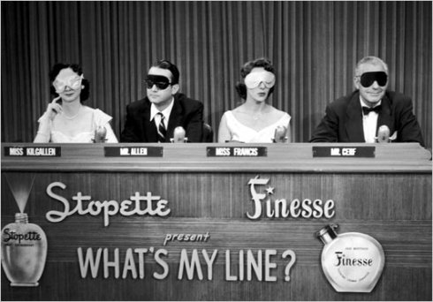 """Regular"" What's My Line? panel"