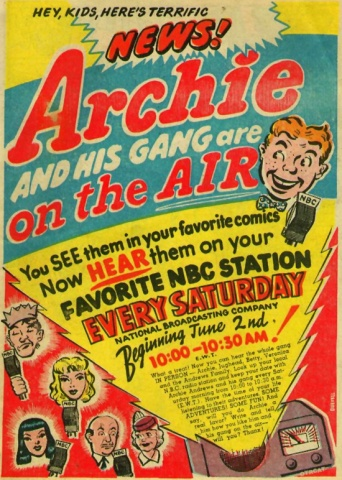 Archie Andrews Makes His Radio Debut On May 31, 1943 – Once