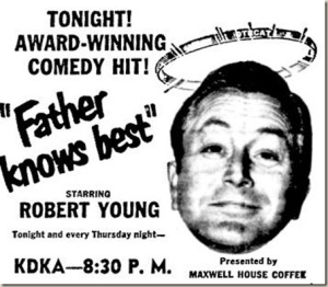 Image result for radio series father knows best