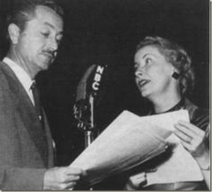 Robert Young and Jean Vander Pyl on the air with Father Knows Best