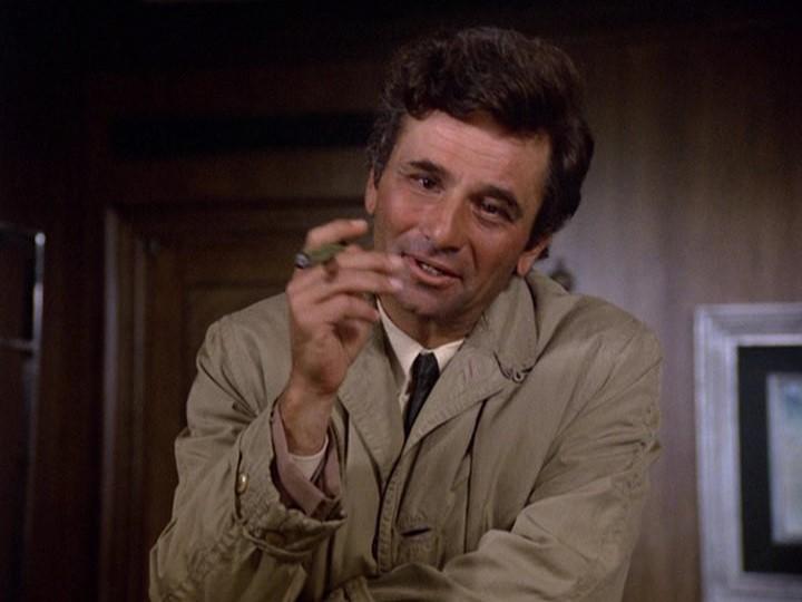 Peter Falk as #Columbo – Once upon a screen…