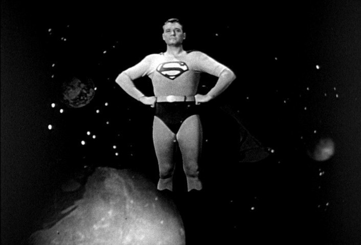 LOOK!  UP IN THE SKY!  It's THE ADVENTURES OF SUPERMAN on Summer of MeTV